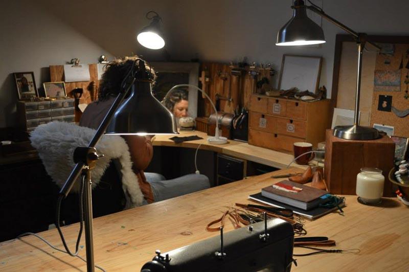 Fine Jewellery Designer Alena Warm's Studio