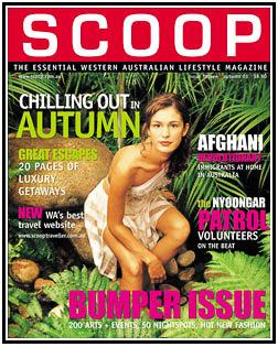 Jennifer Gaye Design on Scoop Cover